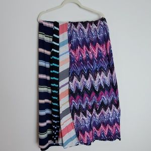 4 pack Faded Glory Maxi Skirts